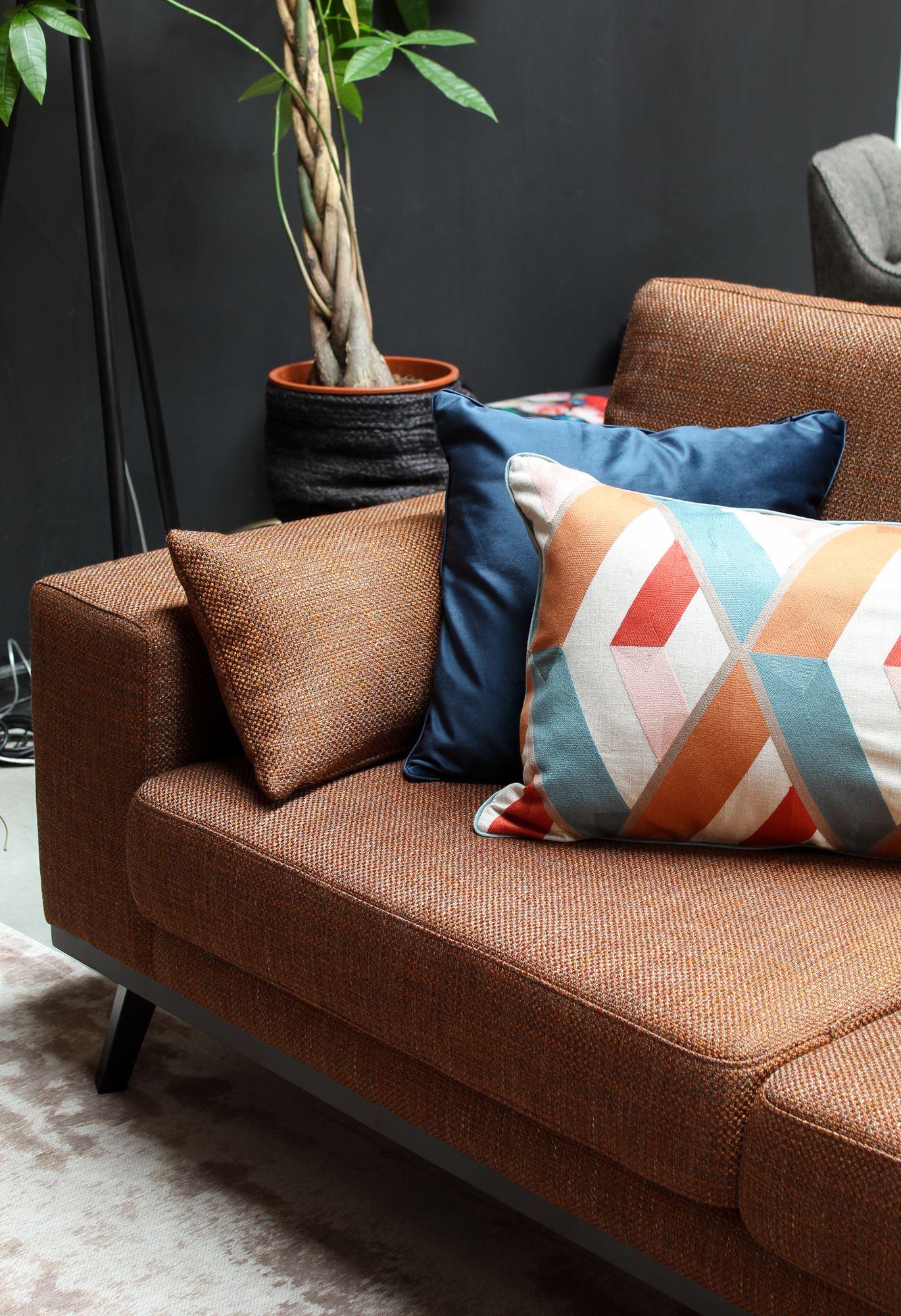 Picture of: 9design Collection Sofa Modena 2 Person Orange Modena Neon Furniture Store 9design Showroom Warsaw