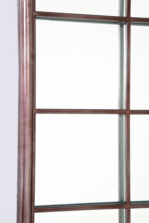 Kare design mirror window iron 200x90cm 200 x 90 x 3 cm for Mirror 90 x 90