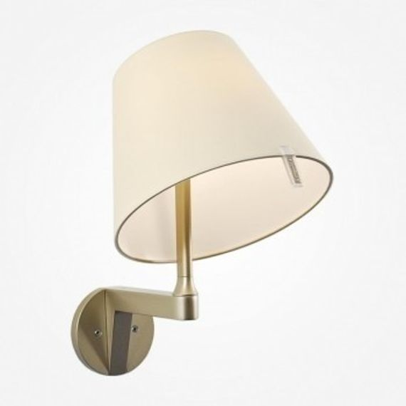 Artemide :: Melampo parete body brown and Shade natural (no on/off switch)