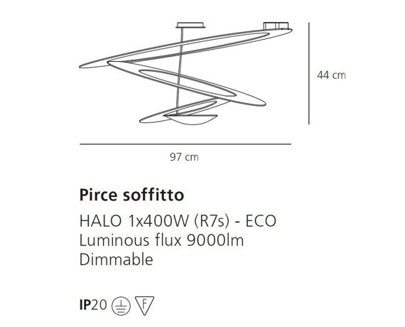 Artemide :: Pirce soffitto