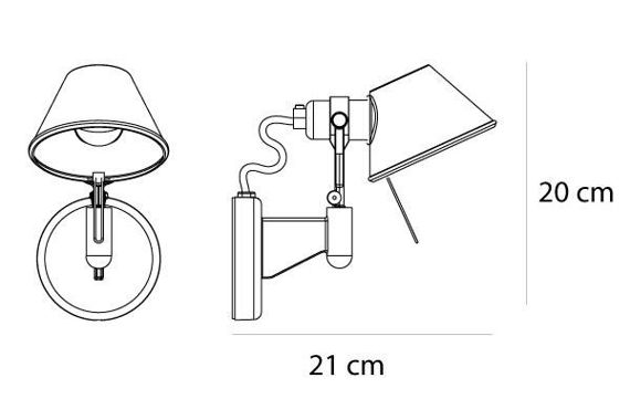 Artemide :: Tolomeo micro faretto without on/off switch