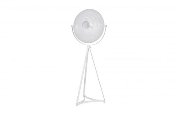 Be Pure :: Floor Lamp Blown metal white