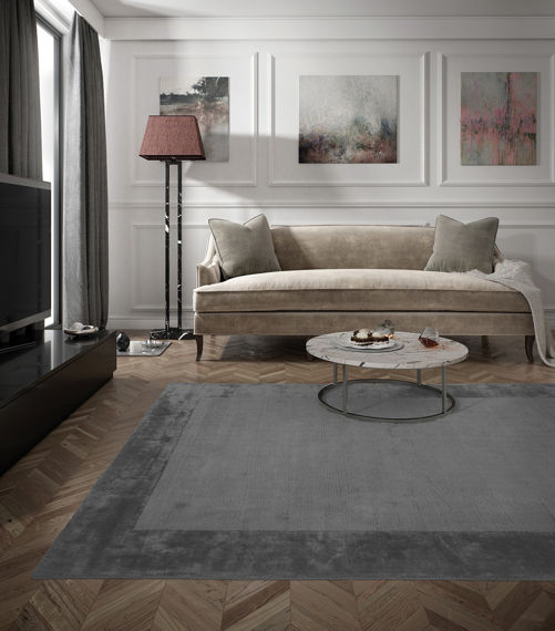 Carpet Decor :: Carpet Aracelis Steel Gray 160x230cm