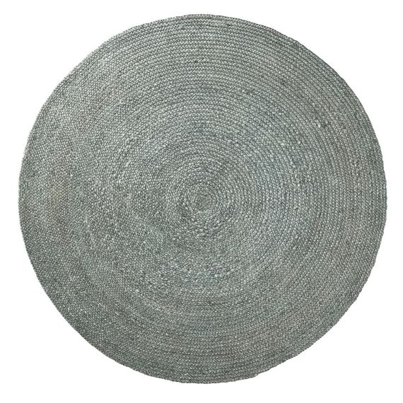 Carpet Round Dip 150x150 color blue