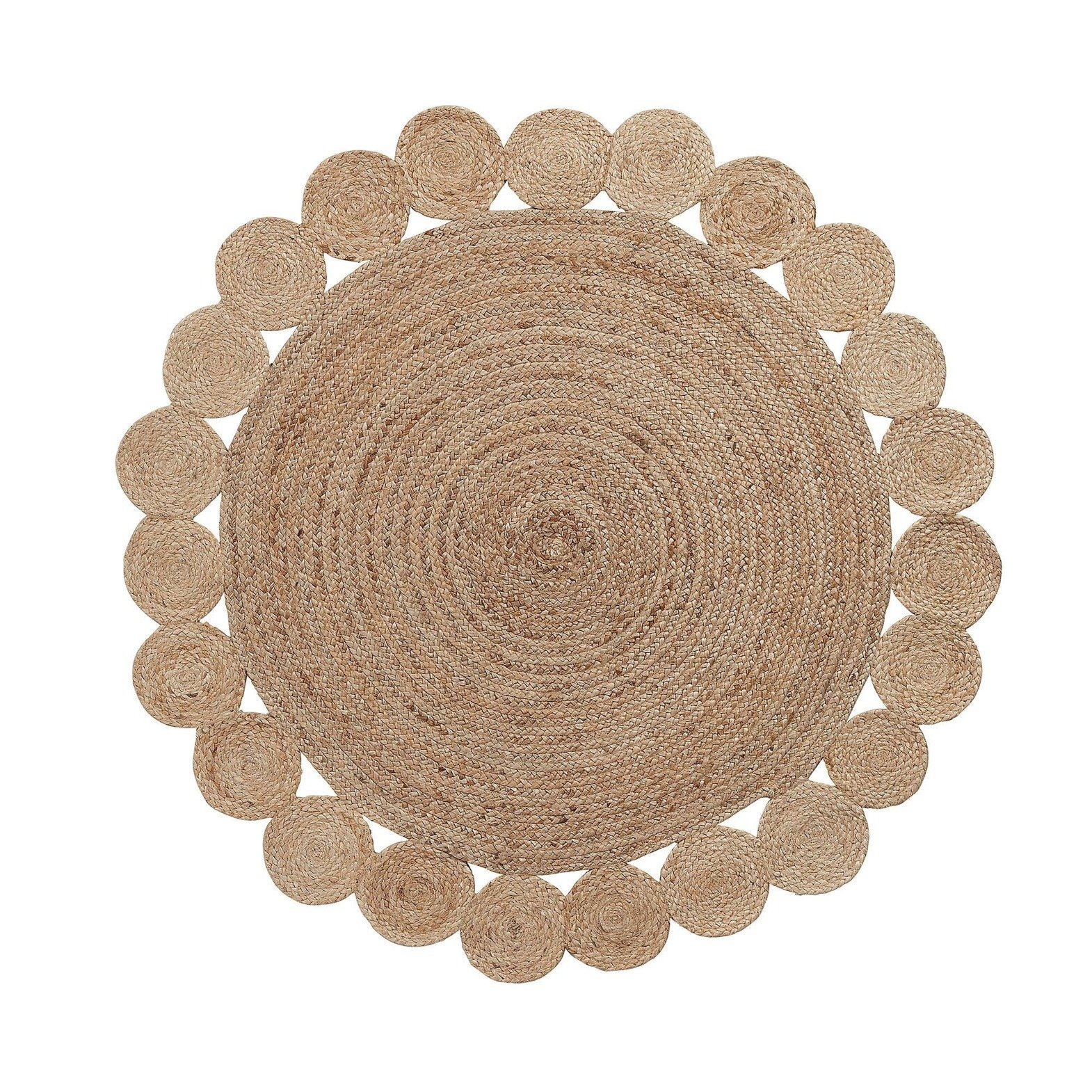 Carpet round COSM 150x150 natural color