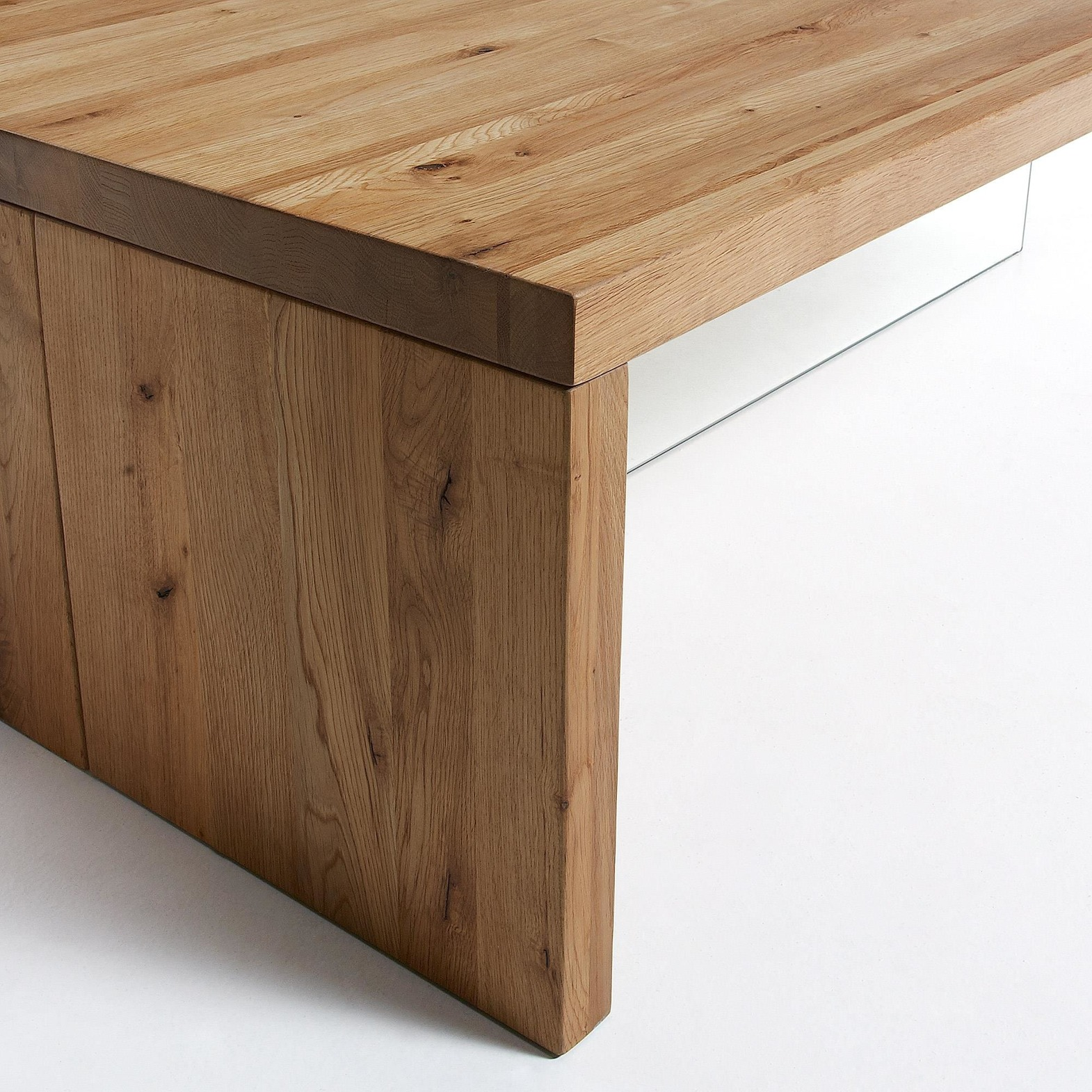 Coffee table TRISS 70x120cm natural wood