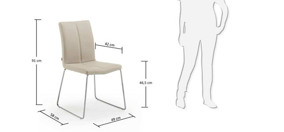DRITO beige chair