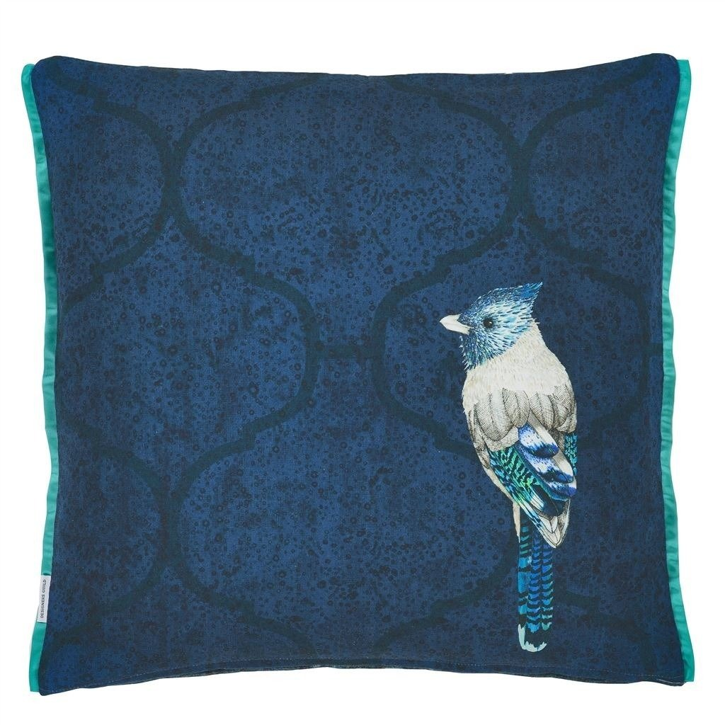 Designers Guild :: Pillow Quill Cobalt