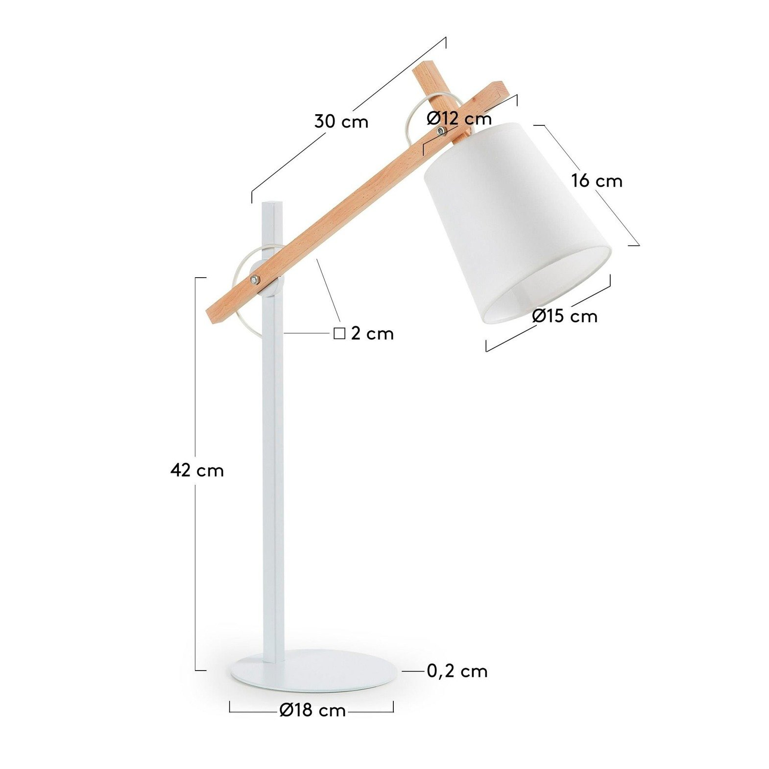 Desk lamp White JOVIK
