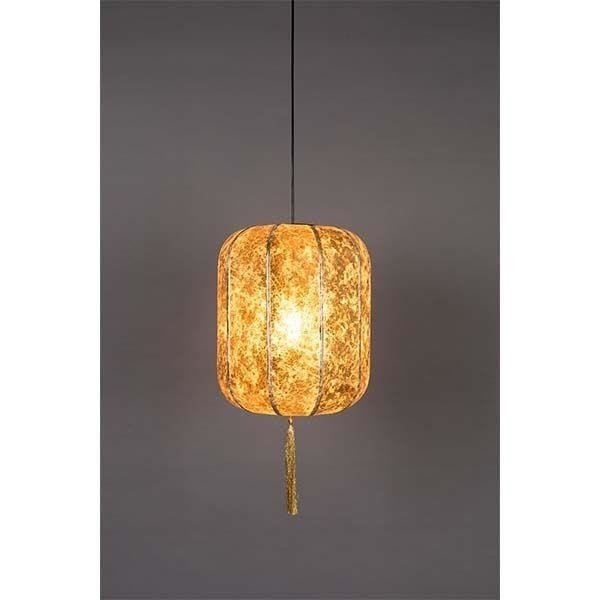 Dutchbone Suspension Lamp Suoni L Gold 5300159 Furniture Store 9design Showroom Warsaw