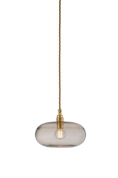 EBB & FLOW :: Horizon Hanging Lamp ?21cm chestnut brown