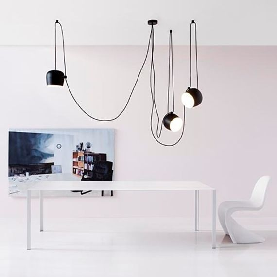 Flos :: Hanging Lamp Aim - set 3 lamp black