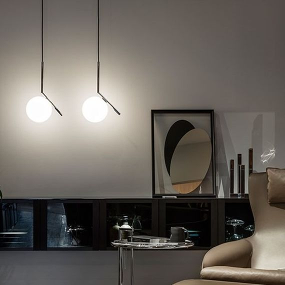 Flos :: Pendant Lamp IC S1 - chrome