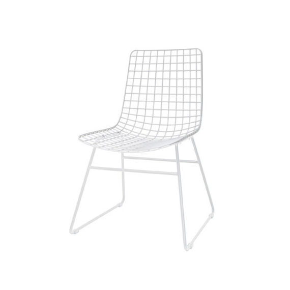 HK Living :: Chair WIRE white