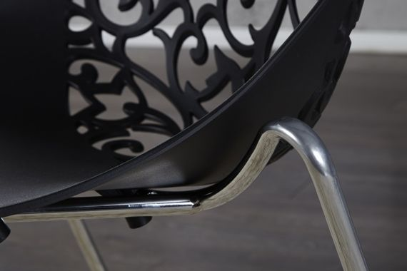 INTERIOR SPACE :: Chair Orchidea black