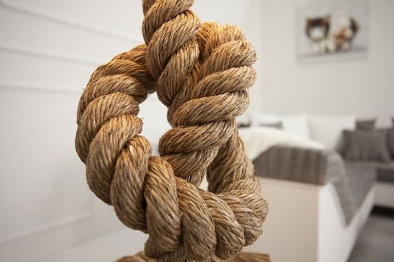 INTERIOR SPACE :: Table Lamp Ropes