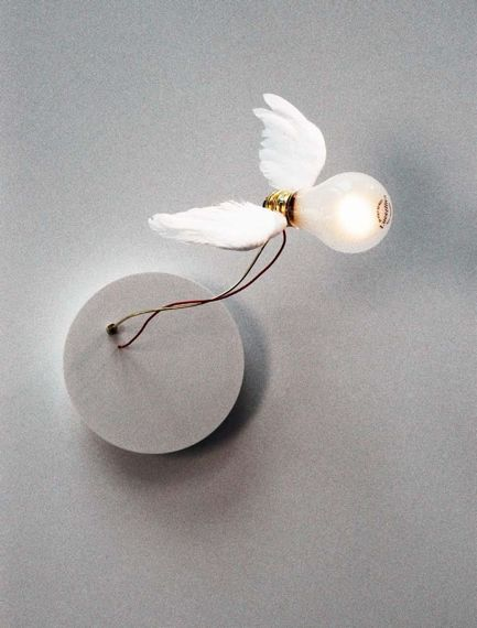 Ingo Maurer :: Lucellino NT Sconce (with transformer)