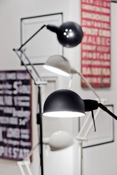 It's About RoMi :: Floor Lamp GLASGOW - black