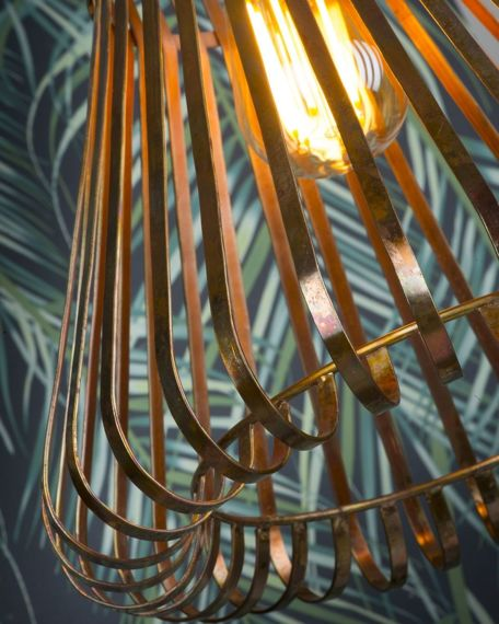 It's About Romi :: Suspension lamp Meknes copper ?31cm