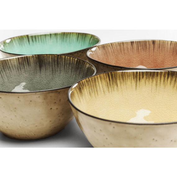 KARE Design :: Cereal Bowl Crackle Vivido Assorted