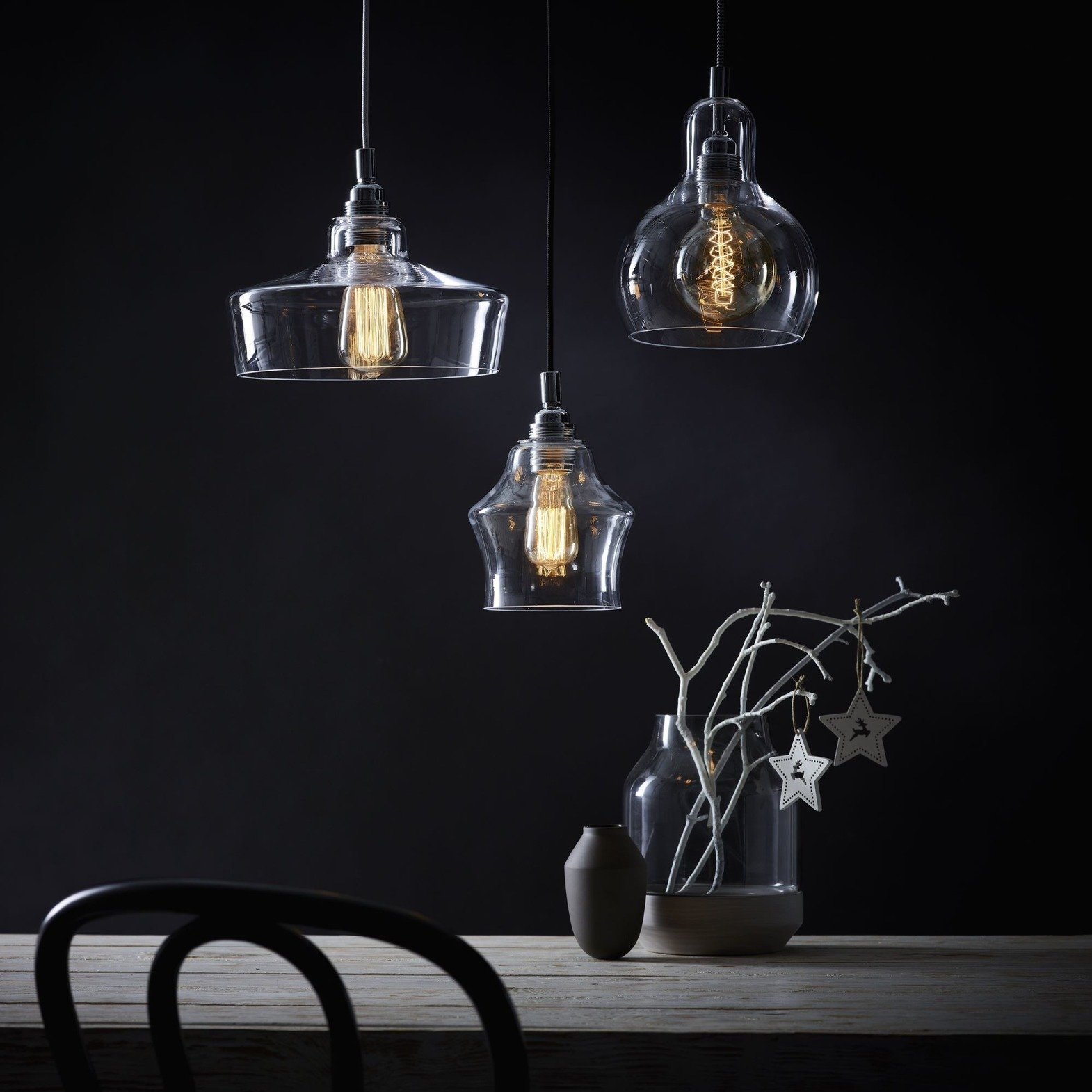 KASPA :: Hanging Lamp Longis and - white wire