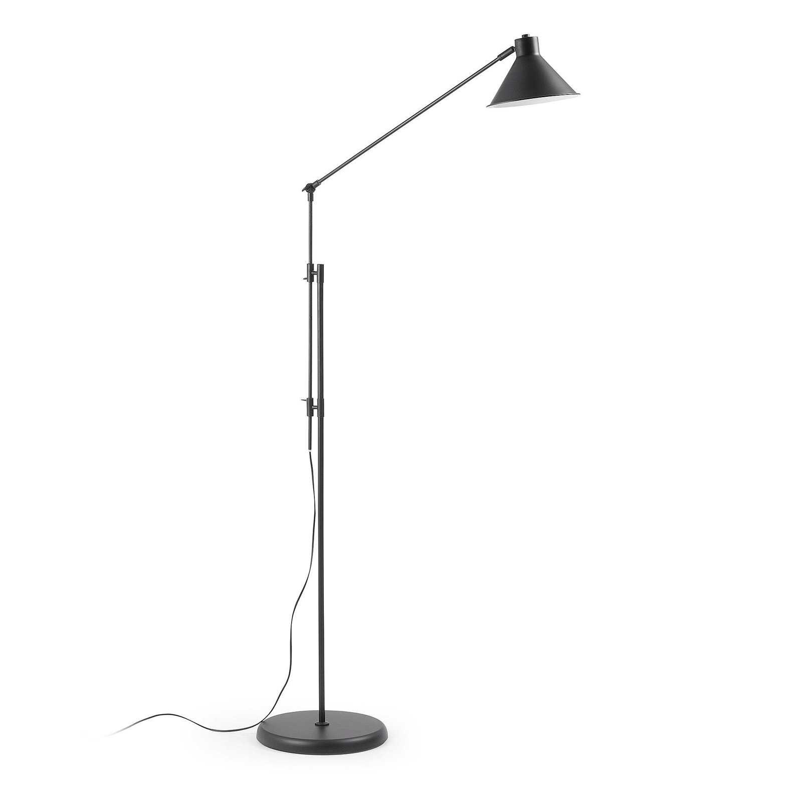 LAGOS Floor lamp metal black