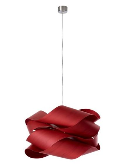 LZF :: Pendant Lamp Link large 69 x 40 cm red