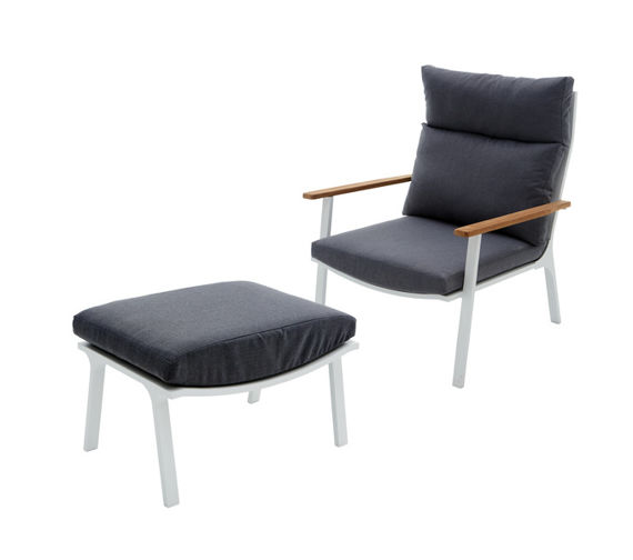 Miloo :: Armchair with a footstool SARA