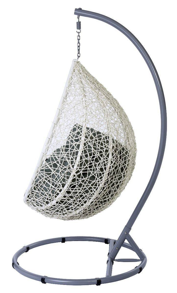 Miloo :: Hanging Armchair Cocoon white / gray