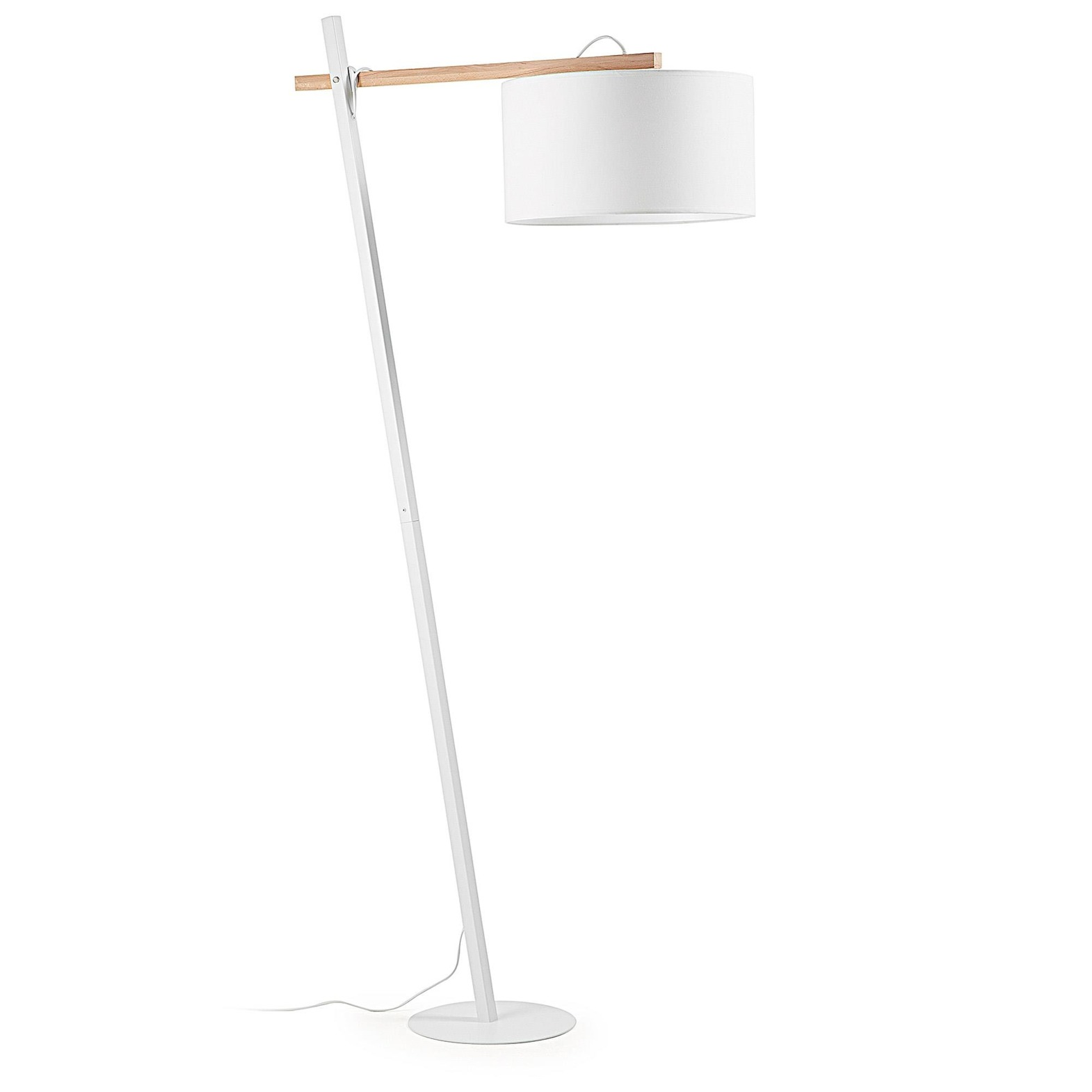 QUIL Floor lamp metal white
