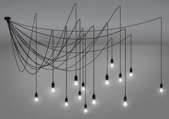 Seletti :: Hanging Lamp Maman DIMMABLE satin