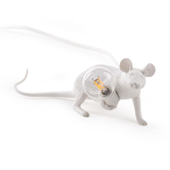 Seletti :: Lampa stołowa Mouse Lie Down