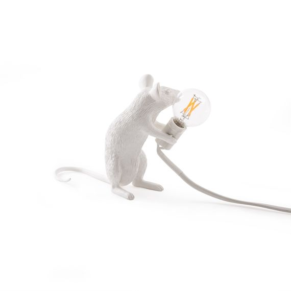 Seletti :: Table Lamp Mouse Sitting