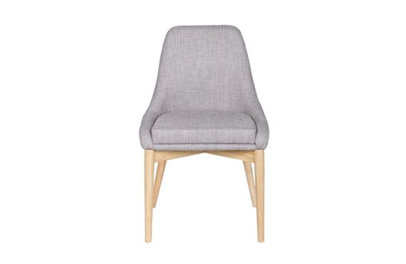 WOOOD :: Chair KOBE light gray