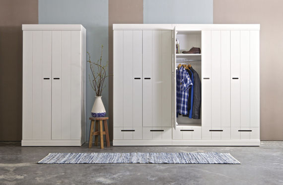 Woood :: Cabinet CONNECT - two-door with drawers
