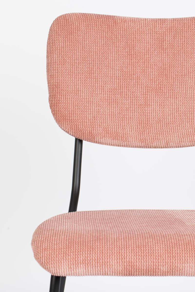 Zuiver :: BENSON pink chair