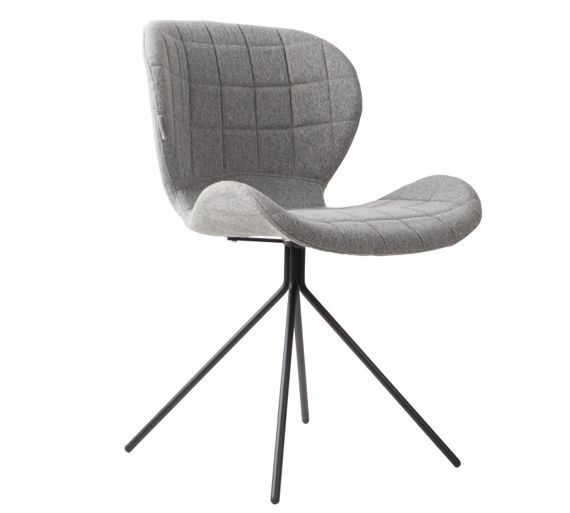 Zuiver :: Chair OMG light gray
