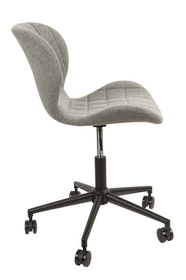 Zuiver :: Chair biurowe OMG light gray