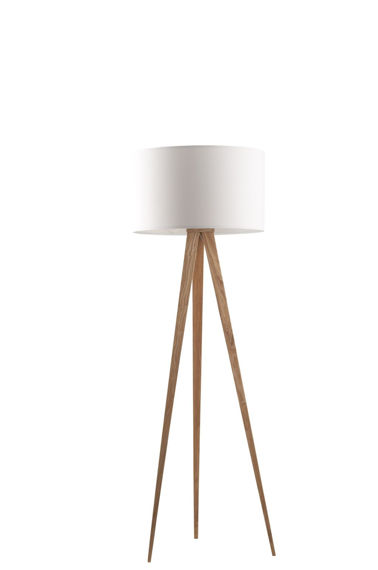 Zuiver :: Lamp Tripod Wood White