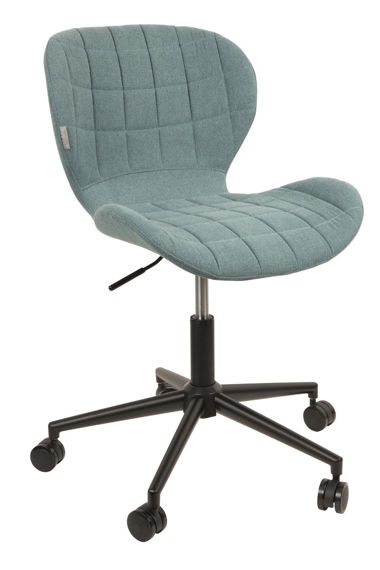 Zuiver :: OMG blue office chair