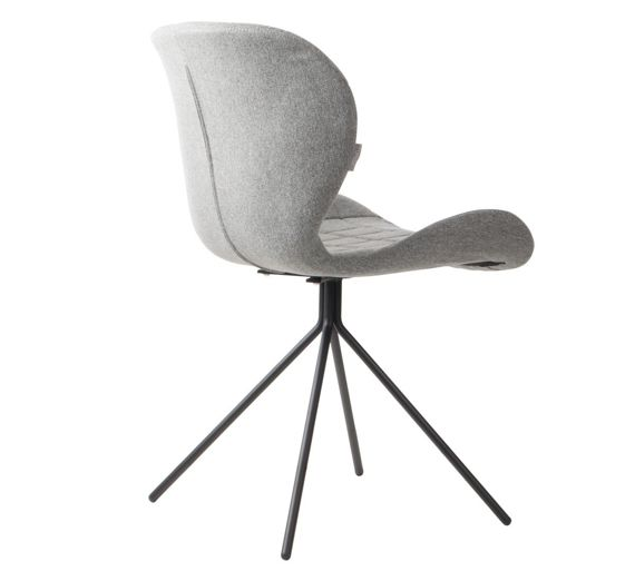 Zuiver :: OMG light gray chair