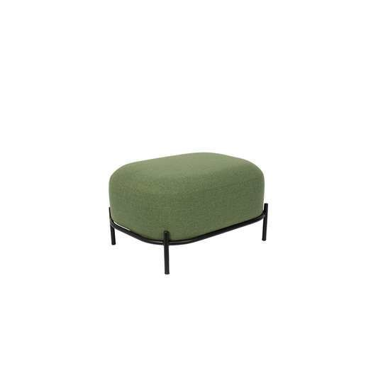 green footstool POLLY