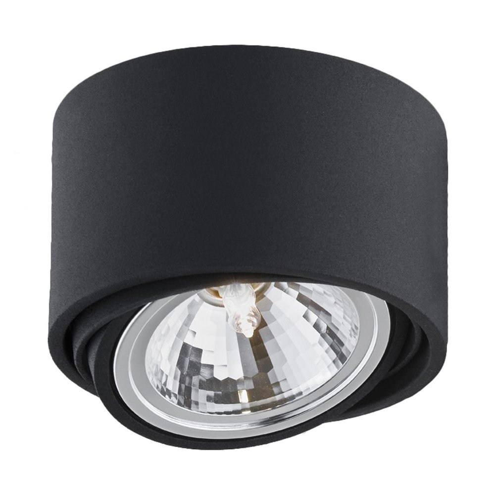KASPA :: Surface Mounted Ceiling Luminaire Lumos 1 black