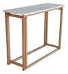 RGE :: Console Accent - marble blat/ d�bowa rama 100 cm