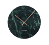 Zuiver :: Clock Marble Time green DIA 25cm
