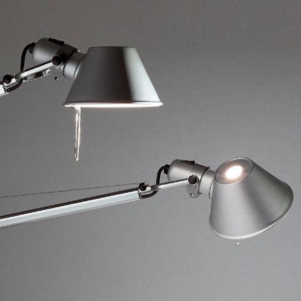 artemide kinkiet tolomeo micro led a010300 salon meblowy warszawa 9design. Black Bedroom Furniture Sets. Home Design Ideas