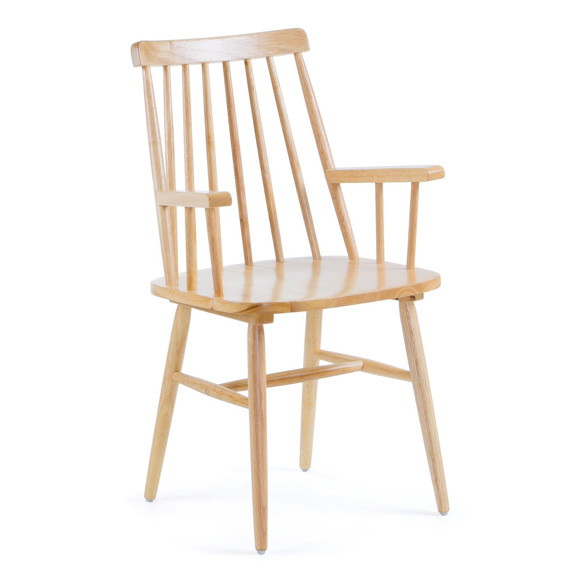 Drewniane krzesło Kristie 53x51 cm