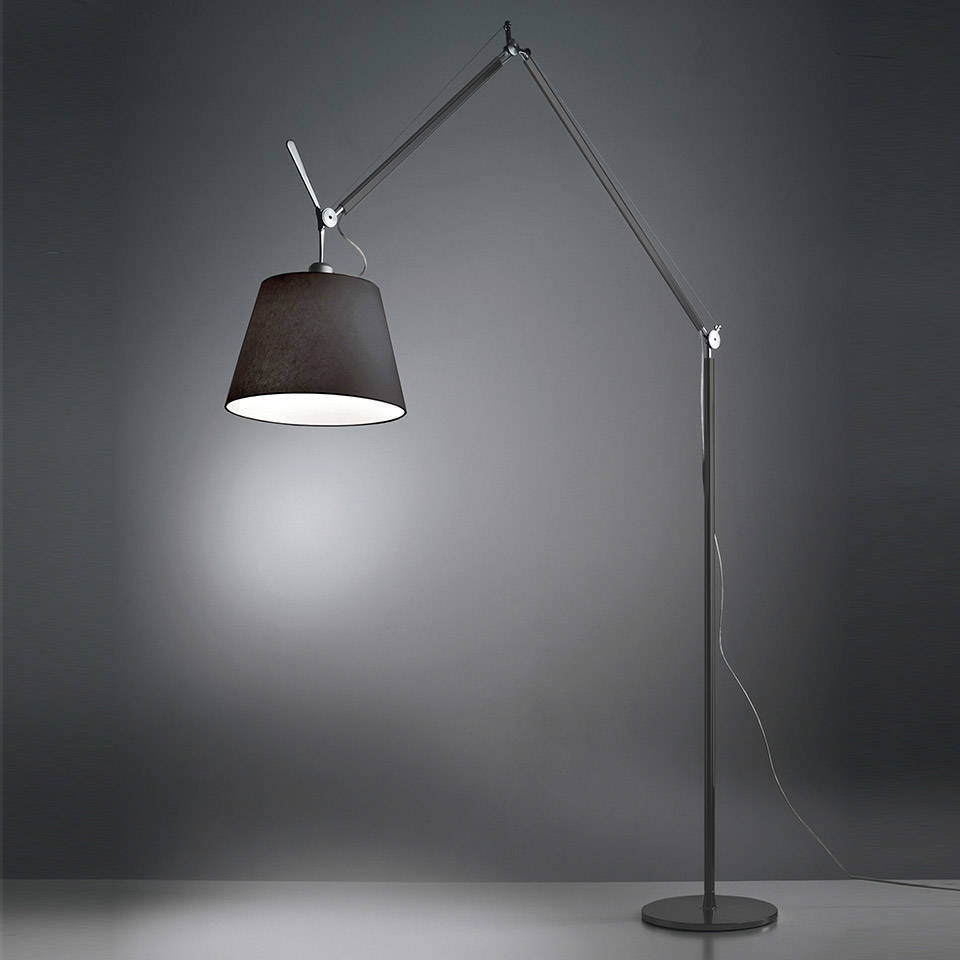 Artemide :: Tolomeo Mega Terra Black on/off abażurem '42 cm