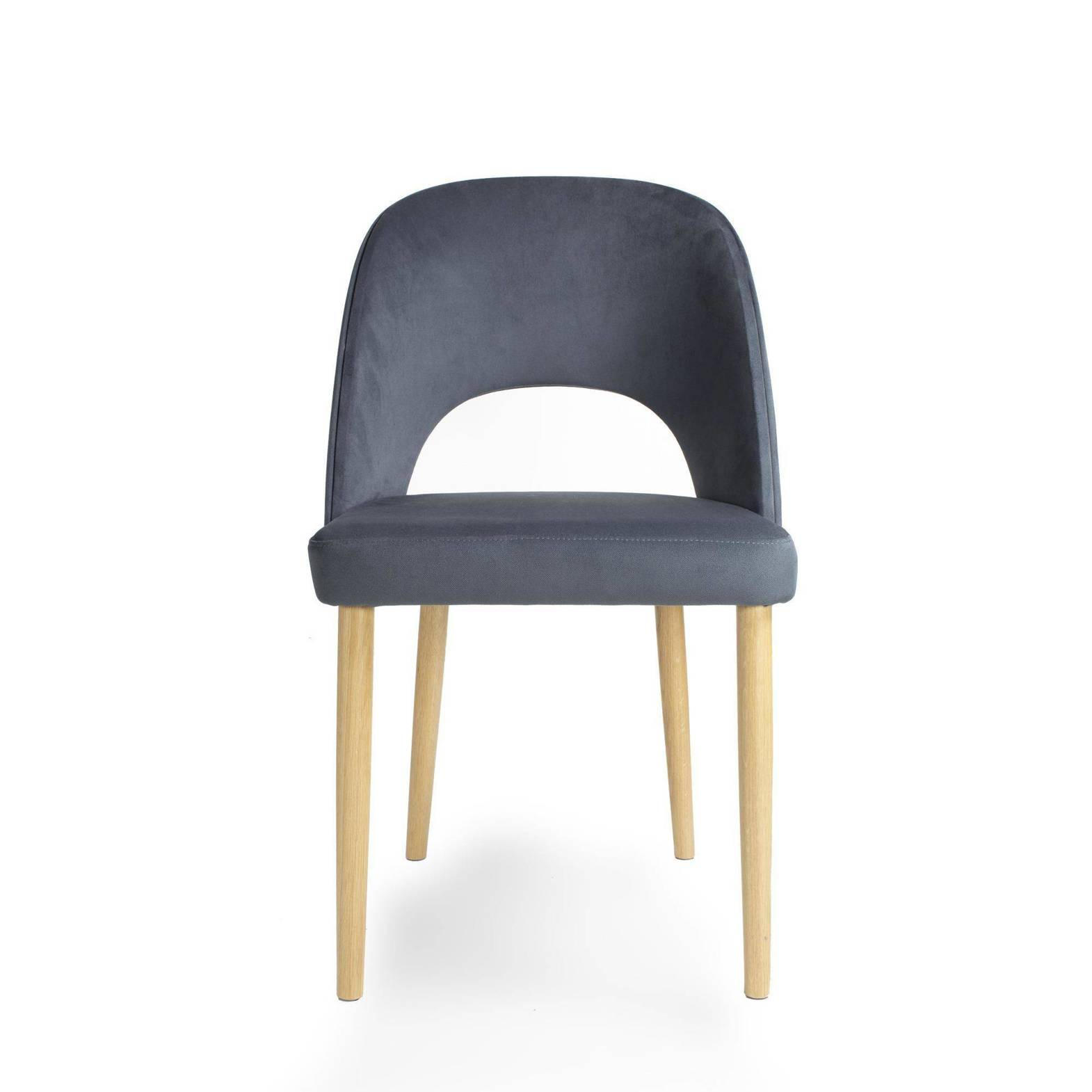 Fameg Krzesło Alora Dąb Naturalny Tkanina Tokyo T118