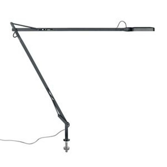 Flos :: Lampa biurkowa Kelvin LED Desk support (Visible cable) Antracyt